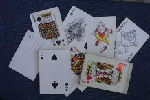 Vintage Collectible Playing card The Giant  deck of postcards